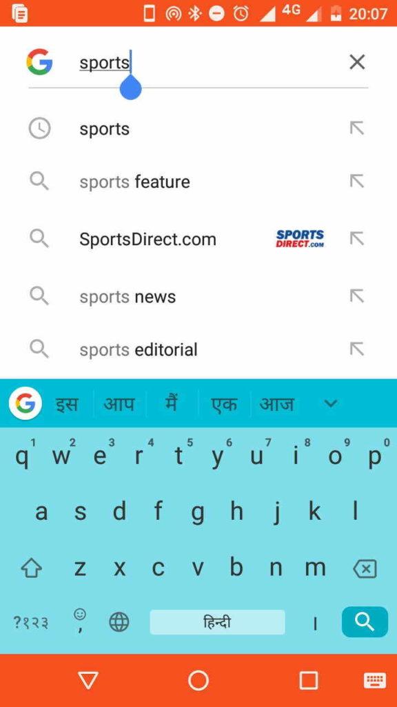 google-search-sports
