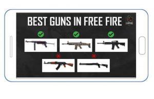 freefire guns