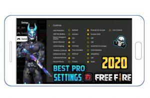 freefire pro level settings