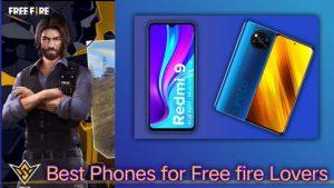 free fire ke liye best phone