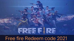 free fire redeem code in 2021